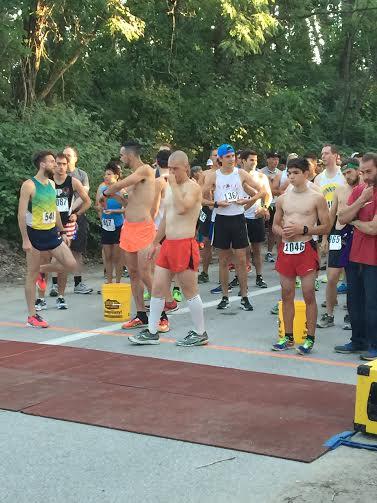 WCTC runs in Presque Isle Half Marathon