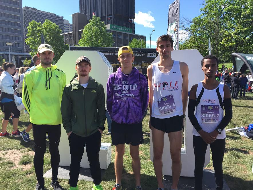 WCTC 3rd at Pittsburgh Marathon Relay