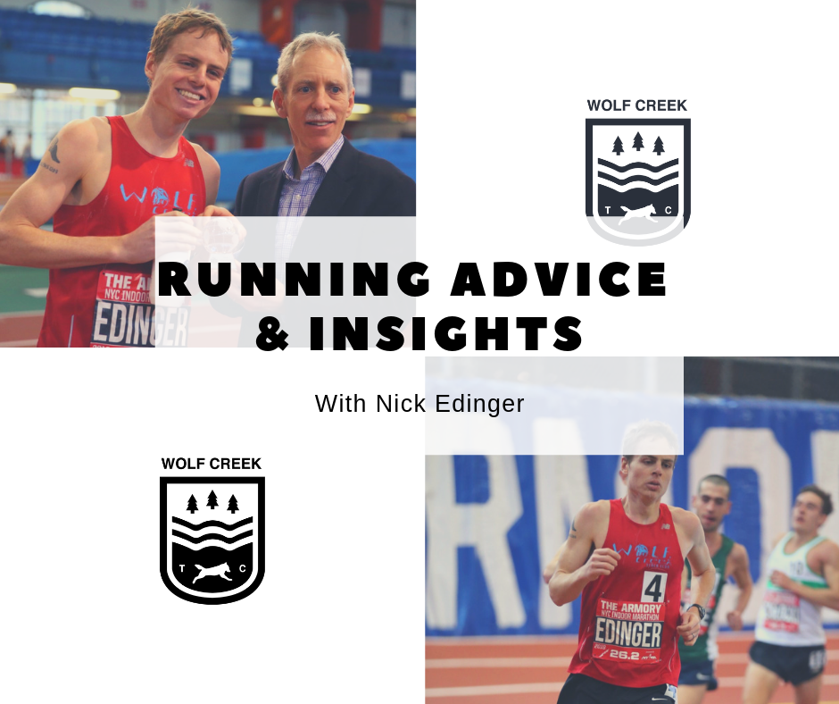 Running Advice & Insights: Nick Edinger